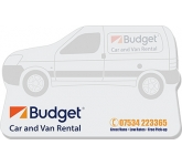 125 x 75mm Van Shaped Sticky Note