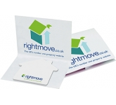125 x 75mm Special Shaped Covered Sticky Note  by Gopromotional - we get your brand noticed!