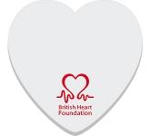 75 x 75mm Heart Shaped Sticky Note