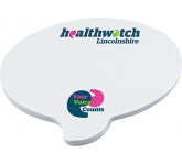 A5 Speech Bubble Shaped Sticky Note  by Gopromotional - we get your brand noticed!