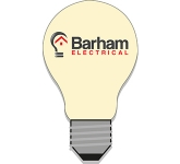 A6 Light Bulb Shaped Sticky Note  by Gopromotional - we get your brand noticed!
