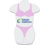A6 Womans Body Shaped Sticky Note  by Gopromotional - we get your brand noticed!
