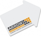 A7 Arrow Shaped Sticky Note  by Gopromotional - we get your brand noticed!