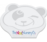 A7 Bear Shaped Sticky Note  by Gopromotional - we get your brand noticed!