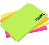 A7 Bright Sticky Note  by Gopromotional - we get your brand noticed!