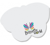 A7 Butterlfy Shaped Sticky Note  by Gopromotional - we get your brand noticed!