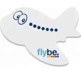 A7 Plane Shaped Sticky Note  by Gopromotional - we get your brand noticed!