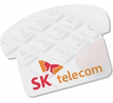 A7 Telephone Shaped Sticky Note
