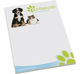 A4 Notepad  by Gopromotional - we get your brand noticed!
