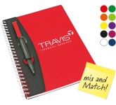 A5 Mix and Match Polyprop Spiral Bound Notebook