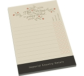 A6 Notepad  by Gopromotional - we get your brand noticed!