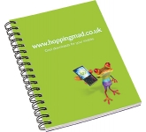 A6 Spiral Bound Notepad  by Gopromotional - we get your brand noticed!