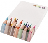 A6 Wedge Notepad  by Gopromotional - we get your brand noticed!
