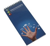 Slimline Spiral Bound Branded Notepad