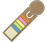 Round Shaped Sticky Flag Bookmark  by Gopromotional - we get your brand noticed!