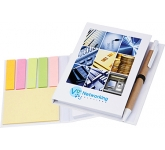 Partner Sticky Note Combi Pad & Flag Set