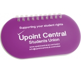 Capsule Spiral Bound Notepad  by Gopromotional - we get your brand noticed!