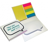 Speech Bubble Combo Sticky Note Set