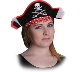 Pirate Card Shaped Hat