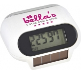 Solar Panel Pedometer  by Gopromotional - we get your brand noticed!