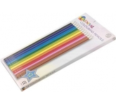 Carnival Twelve Pack Of Printed Colouring Pencils