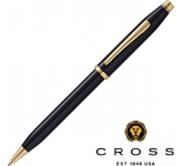 Cross Century II Black Lacquered 23ct Gold Plated Pen  by Gopromotional - we get your brand noticed!