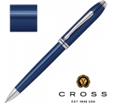 Cross Townsend Quartz Blue Lacquered Pen