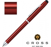Cross TECH3+ Translucent Red Multi-Function Pen