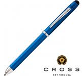 Cross TECH3+ Metallic Blue Multi-Function Pen