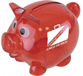 Piglet Mini Piggy Bank  by Gopromotional - we get your brand noticed!
