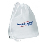 Plastic Duffel Carrier Bag  by Gopromotional - we get your brand noticed!