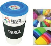 ColourBrite Cubana Grip Take Away Mug  by Gopromotional - we get your brand noticed!