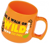 Classic Promotional Plastic Mug  by Gopromotional - we get your brand noticed!