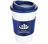 Classic Americano Grip Take Away Mugs - White  by Gopromotional - we get your brand noticed!