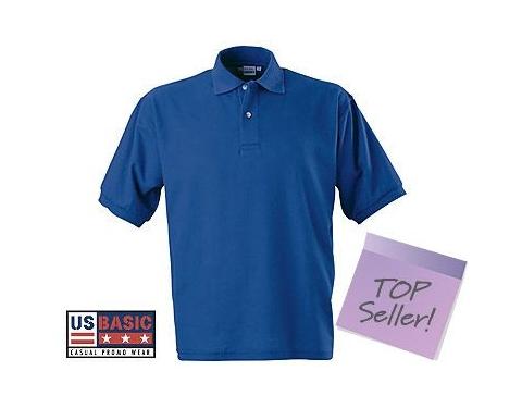 e0f6ca68 Promotional US Basic Boston Polo Shirt Printed with your Logo at  GoPromotional Ireland