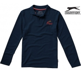 Slazenger Point Long Sleeved Polo Shirt  by Gopromotional - we get your brand noticed!