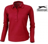 Slazenger Point Women's Long Sleeved Polo Shirt
