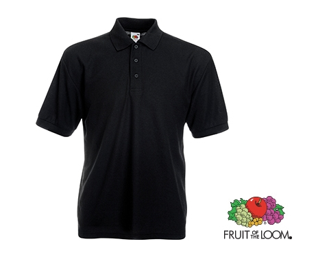 fc7d8c413f6 Promotional Fruit Of The Loom Value Weight Polo Shirts - Coloured ...