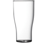 Economy Polystyrene Half Pint Tulip Glass  by Gopromotional - we get your brand noticed!