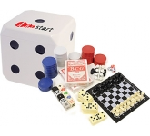 Dice Game Cube  by Gopromotional - we get your brand noticed!
