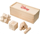 3 Piece Wooden Brain Teaser
