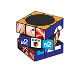 Rubik's Bluetooth Speaker  by Gopromotional - we get your brand noticed!