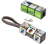 Rubik's Mobile Charging Cable Set  by Gopromotional - we get your brand noticed!