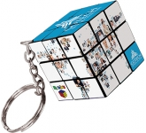 Rubik's Cube Keyring  by Gopromotional - we get your brand noticed!