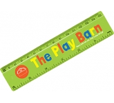 15cm Plastic Ruler  by Gopromotional - we get your brand noticed!