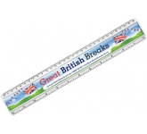 30cm Insert Ruler  by Gopromotional - we get your brand noticed!