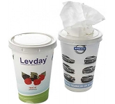 Tissue Drink Cup  by Gopromotional - we get your brand noticed!