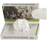 Twin Pocket Wet & Dry Tissue Pack  by Gopromotional - we get your brand noticed!