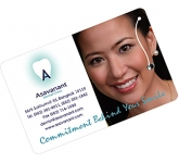 Credit Card Sized Dental Floss  by Gopromotional - we get your brand noticed!
