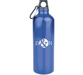 Energise 1 Litre Glossy Aluminium Drinks Bottle  by Gopromotional - we get your brand noticed!